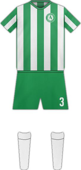 Equipación ALIANZA F.C. (PANAMÁ)