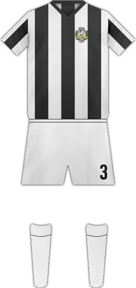 Equipación SANTA GEMA FC