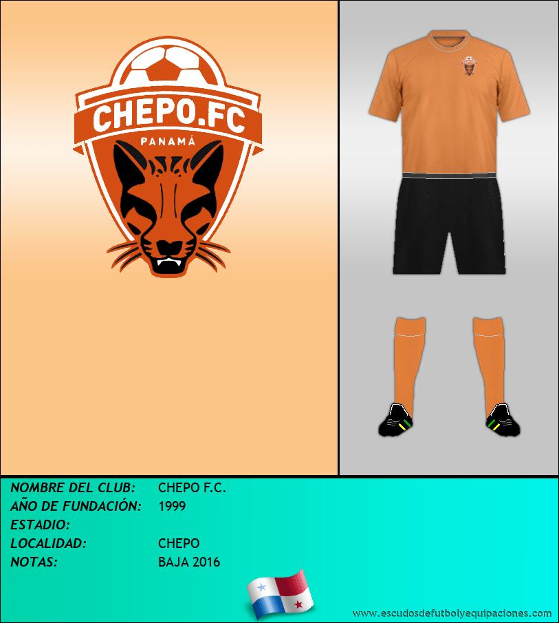 Escudo de CHEPO F.C.