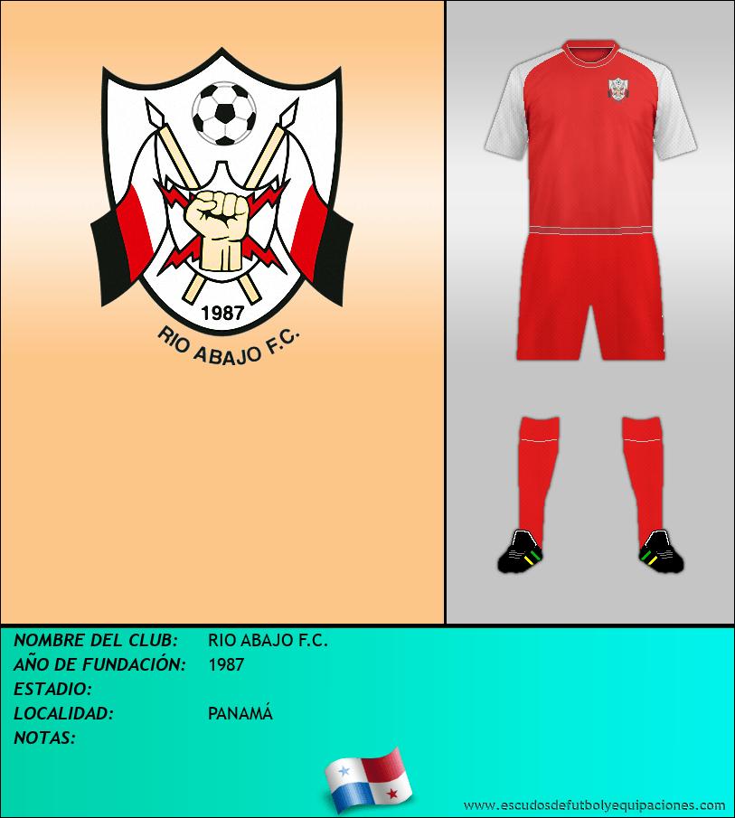 Escudo de RIO ABAJO F.C.