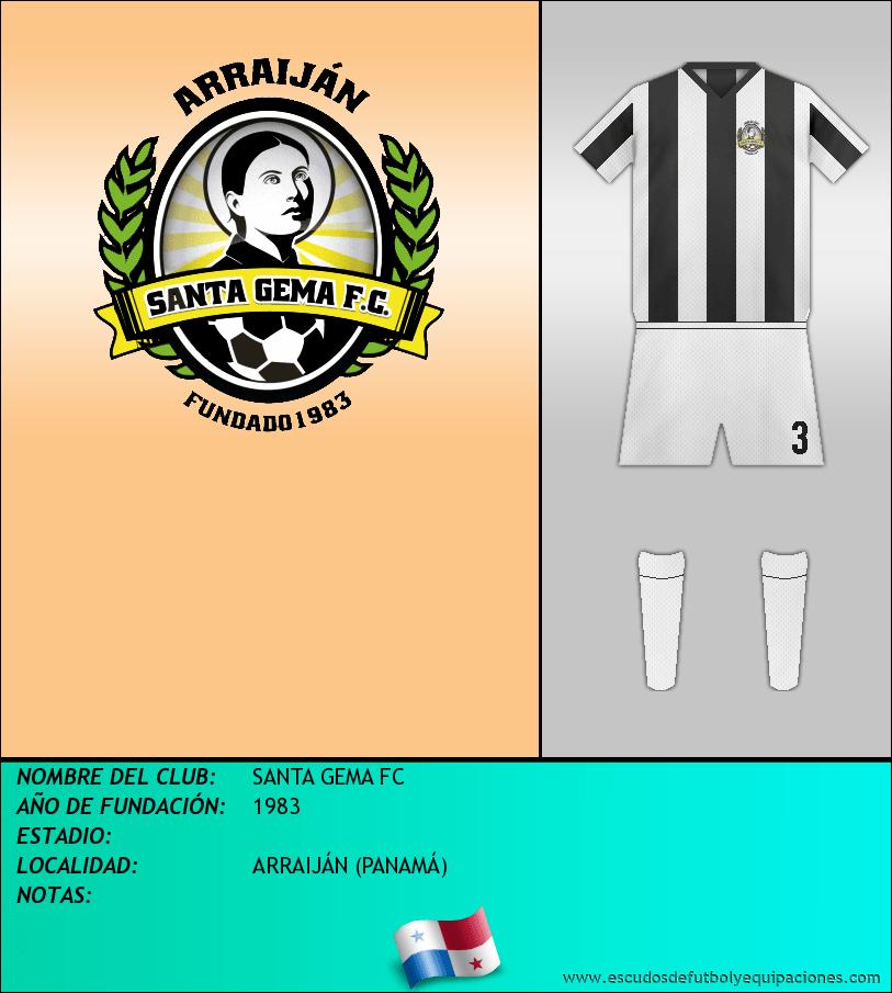 Escudo de SANTA GEMA FC