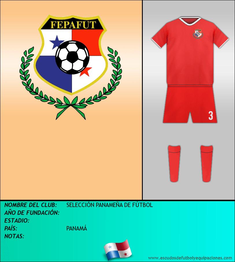 Escudo de SELECCIÓN PANAMEÑA DE FÚTBOL