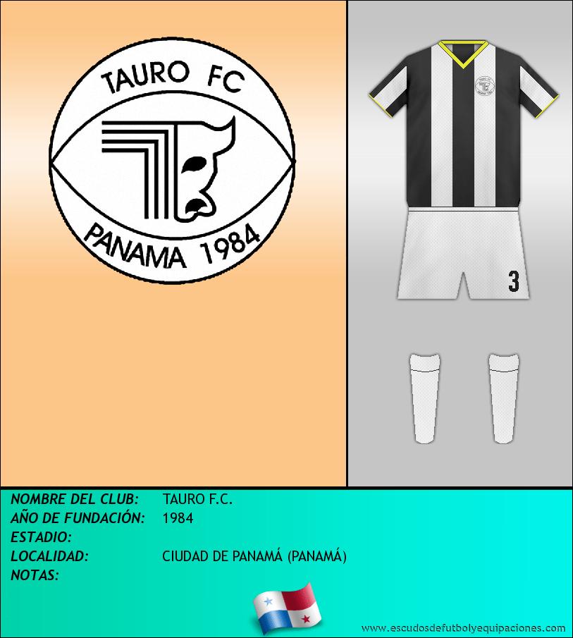 Escudo de TAURO F.C.
