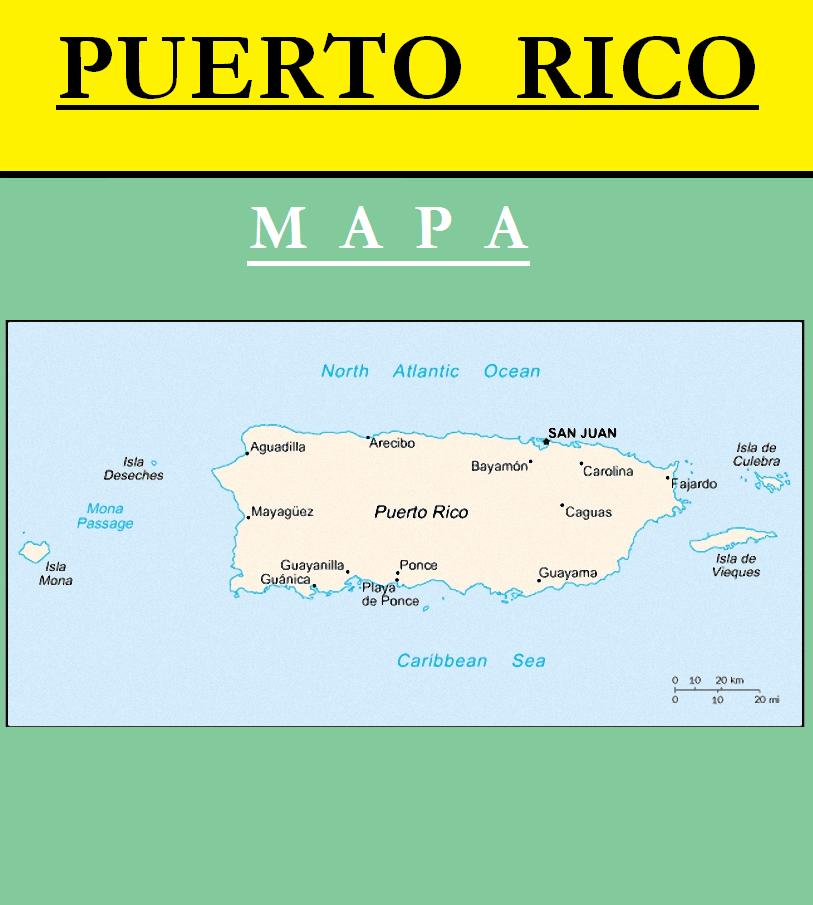Escudo de MAPA DE PUERTO RICO