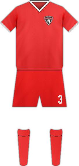 Equipación PUERTO RICO SPARTANS FC