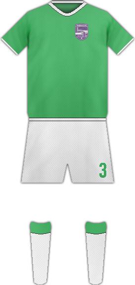 Equipación YABUCO FC