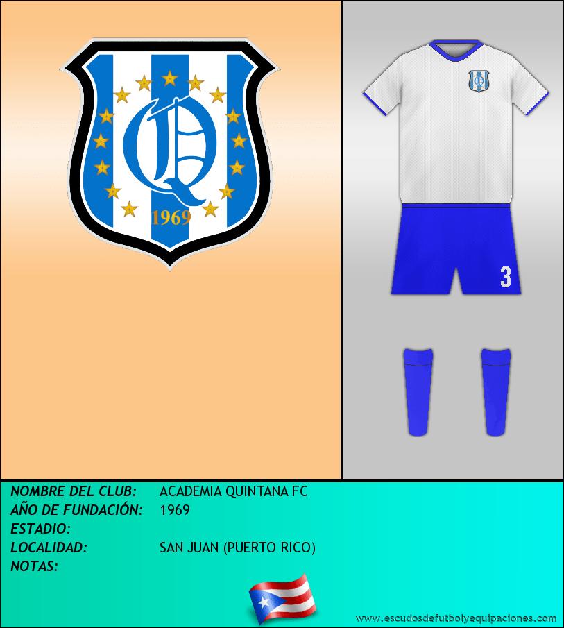 Escudo de ACADEMIA QUINTANA FC