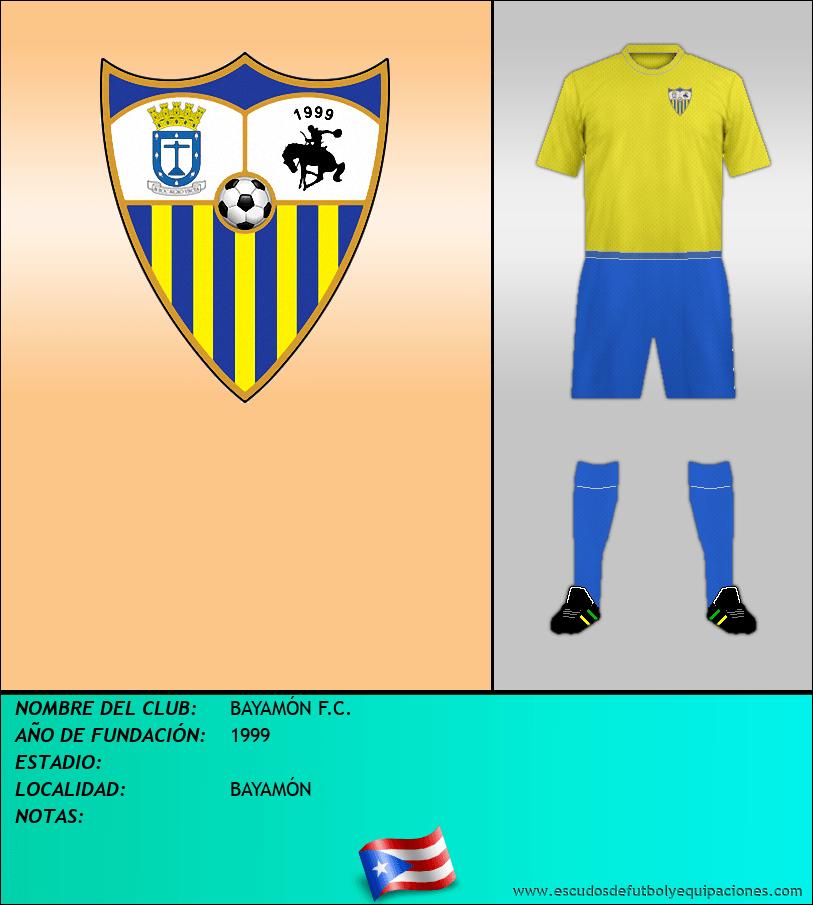 Escudo de BAYAMÓN F.C.