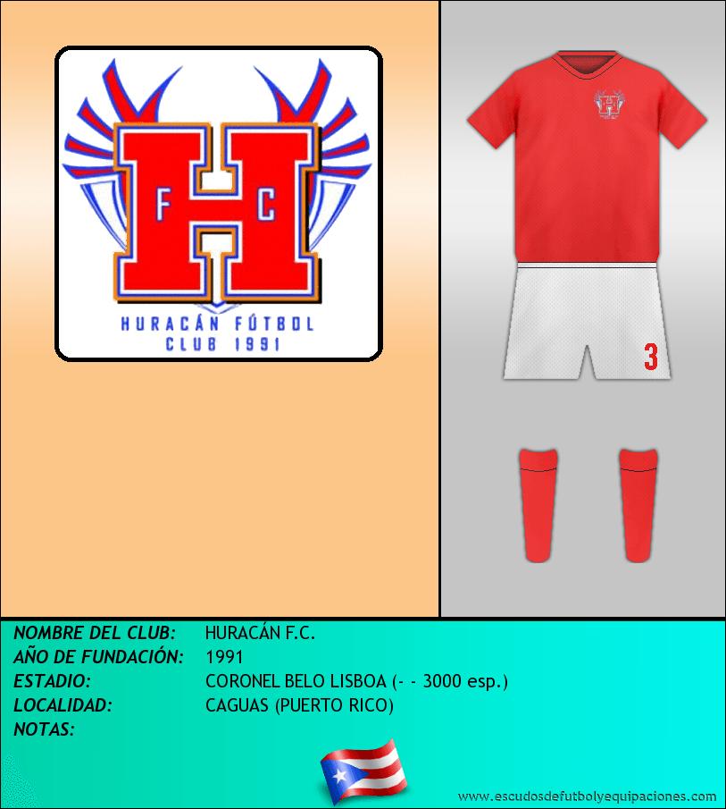 Escudo de HURACÁN F.C.