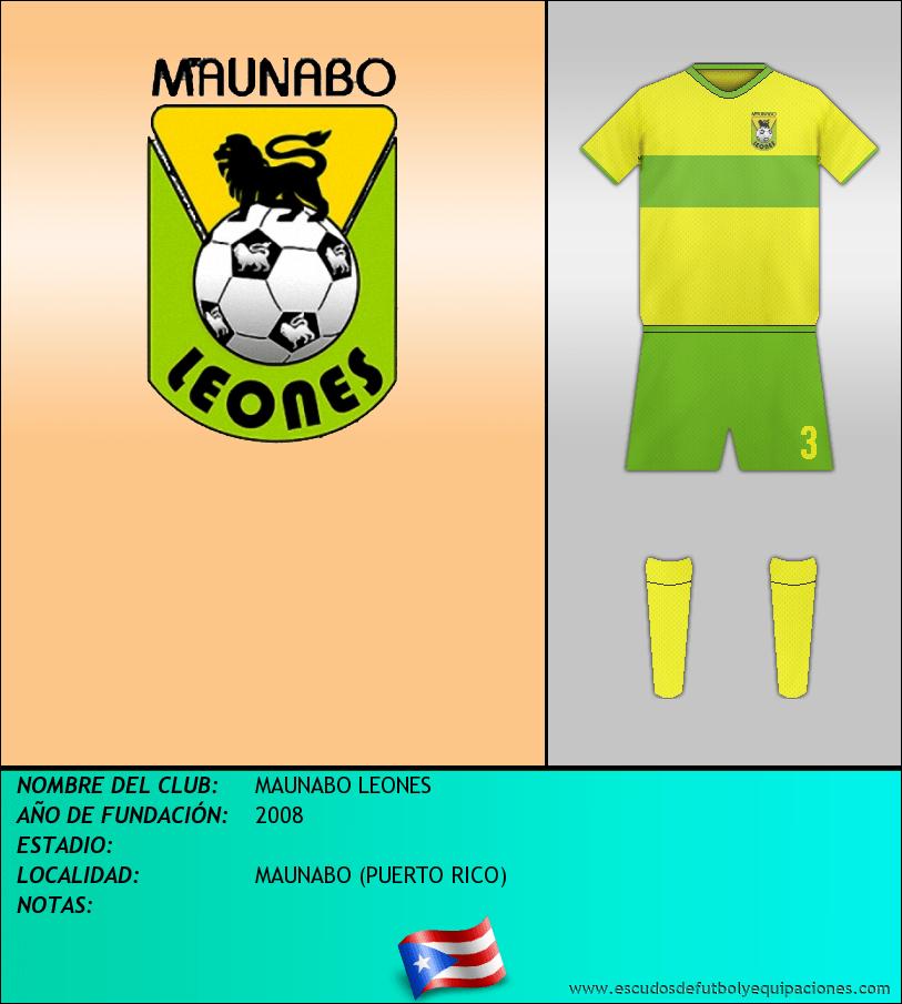 Escudo de MAUNABO LEONES