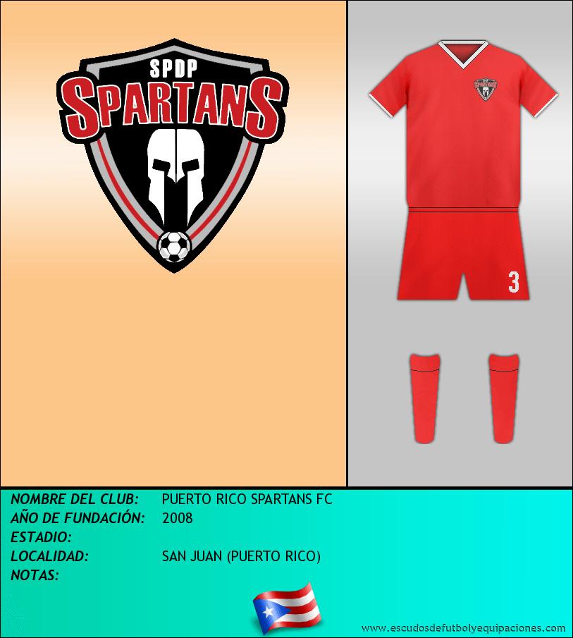 Escudo de PUERTO RICO SPARTANS FC