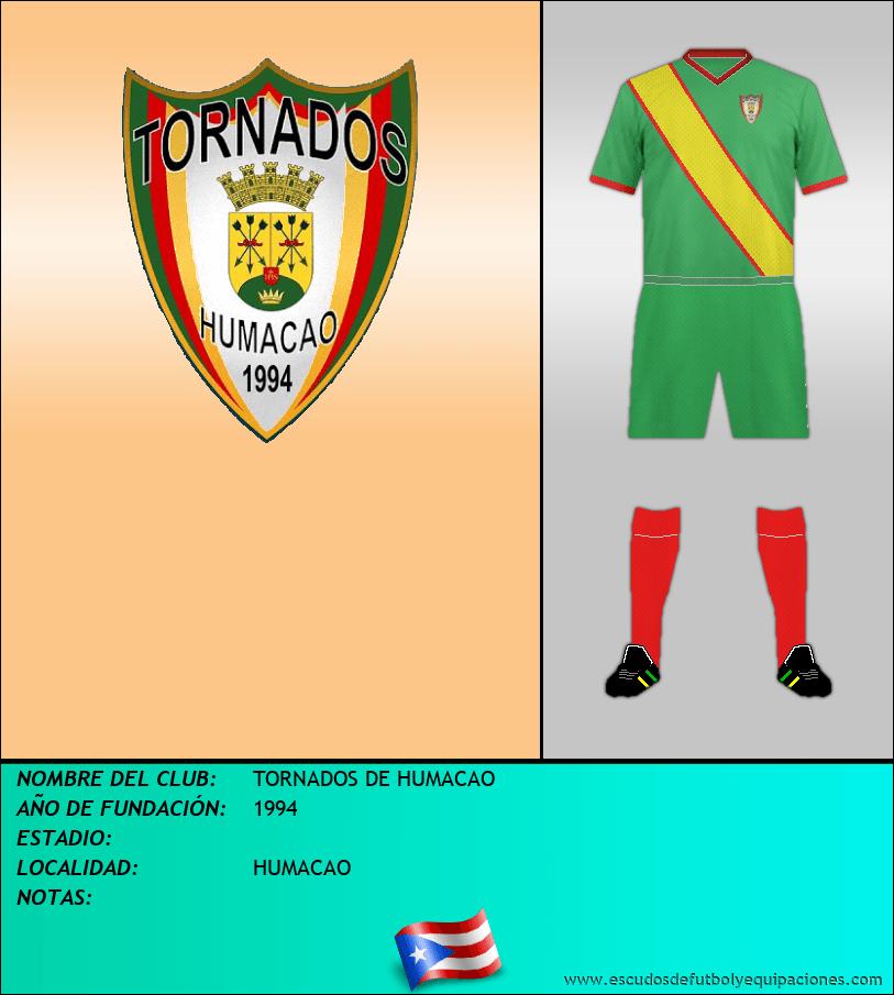 Escudo de TORNADOS DE HUMACAO