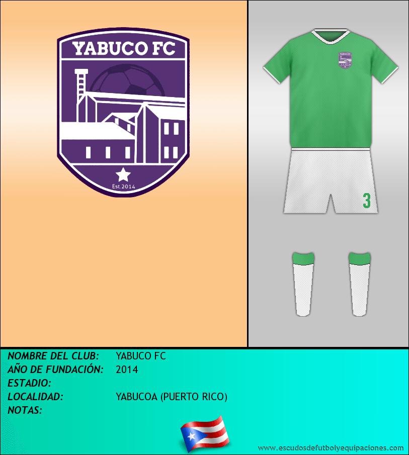 Escudo de YABUCO FC