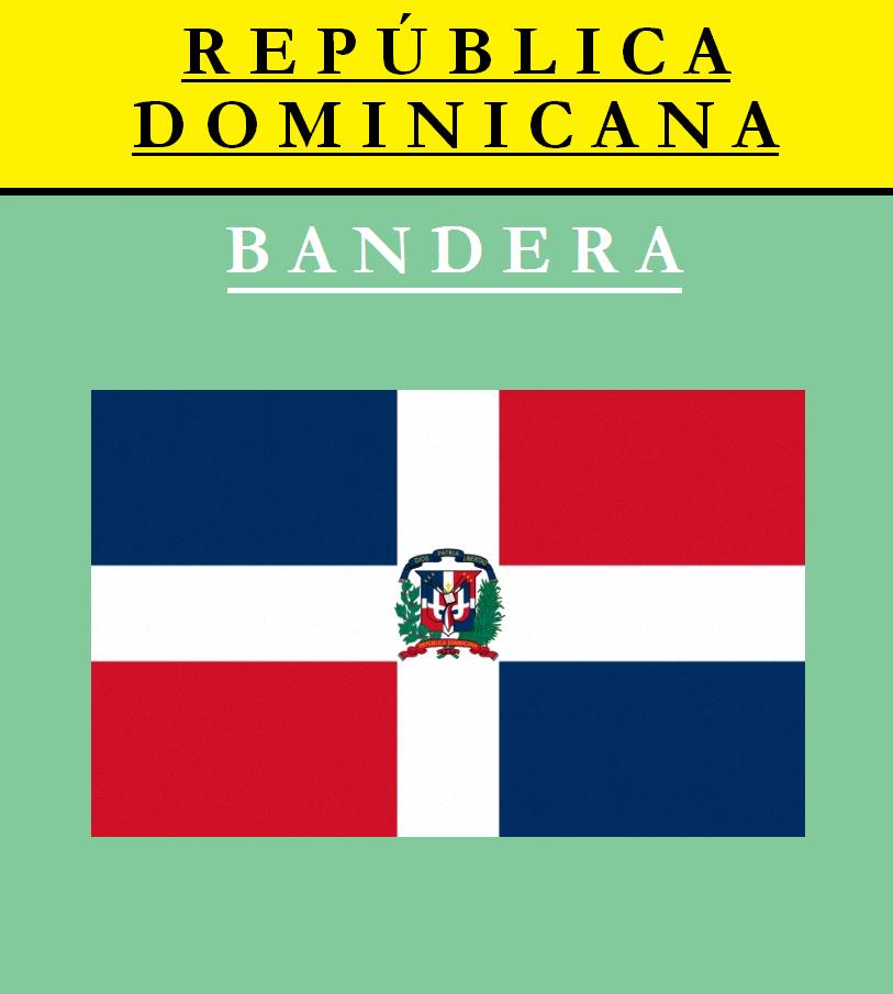 Escudo de BANDERA DE REPÚBLICA DOMINICANA