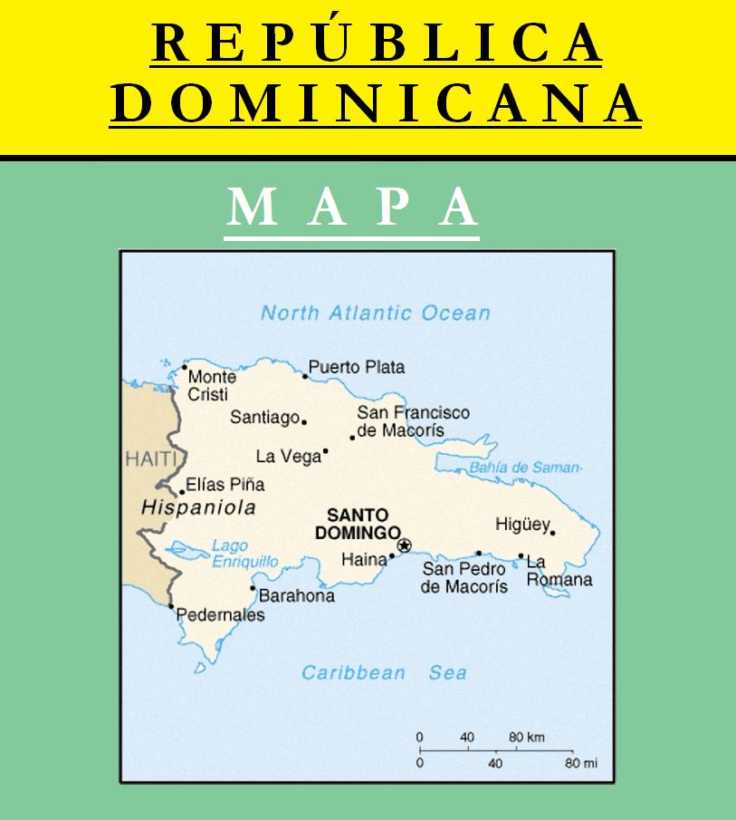 Escudo de MAPA DE REPÚBLICA DOMINICANA