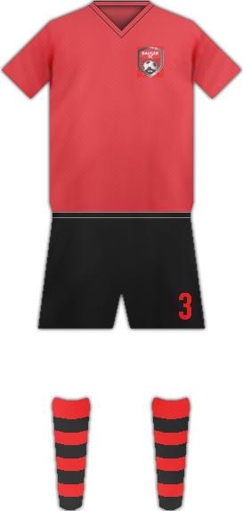 Equipación BAUGER FC