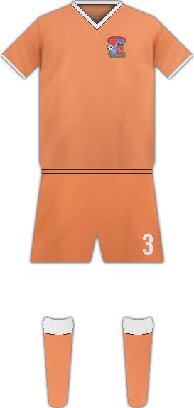 Equipación BAYAGUANA F.C.