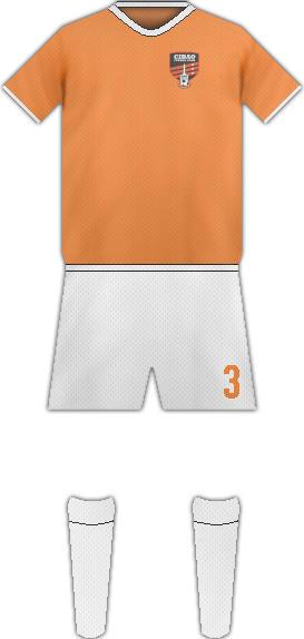 Equipación CIBAO FC