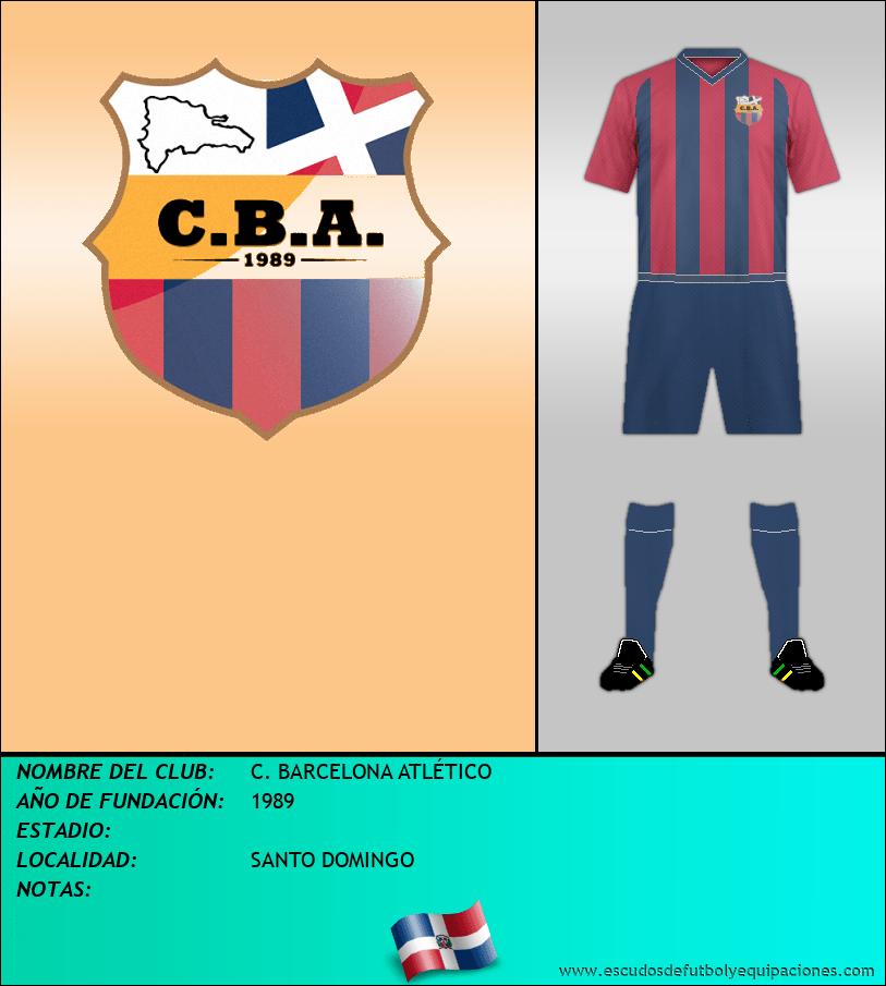 Escudo de C. BARCELONA ATLÉTICO