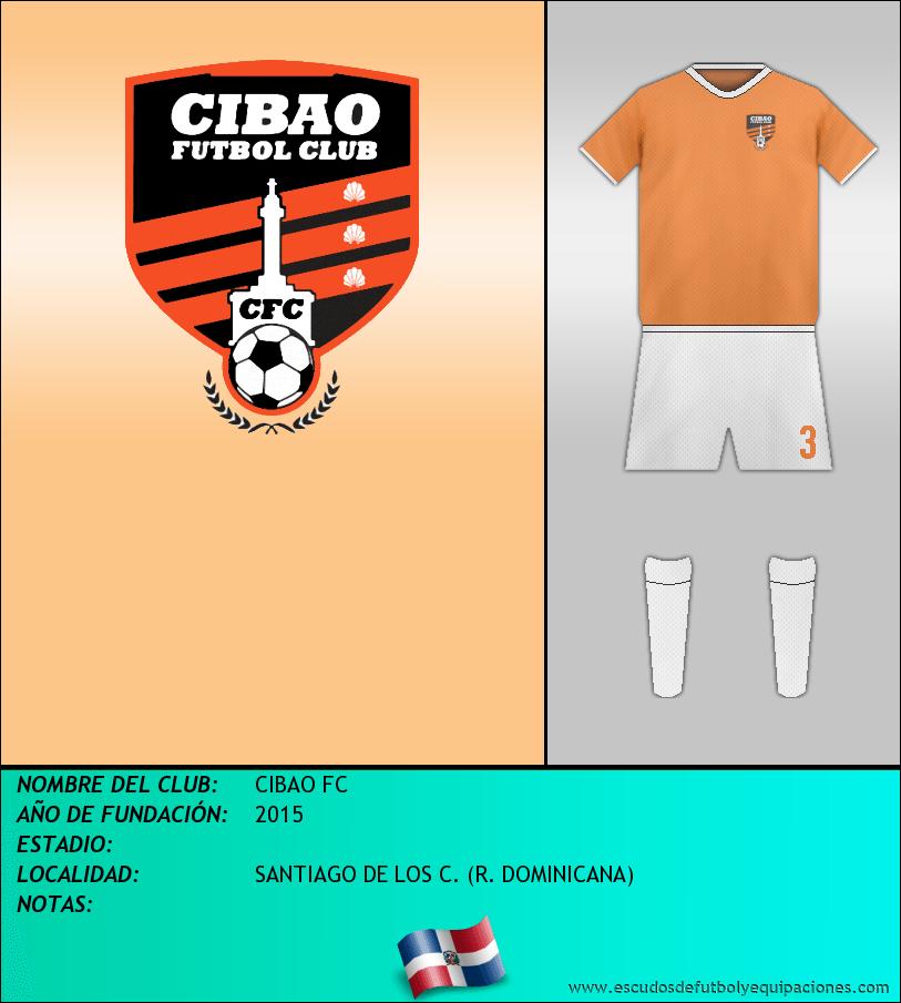 Escudo de CIBAO FC