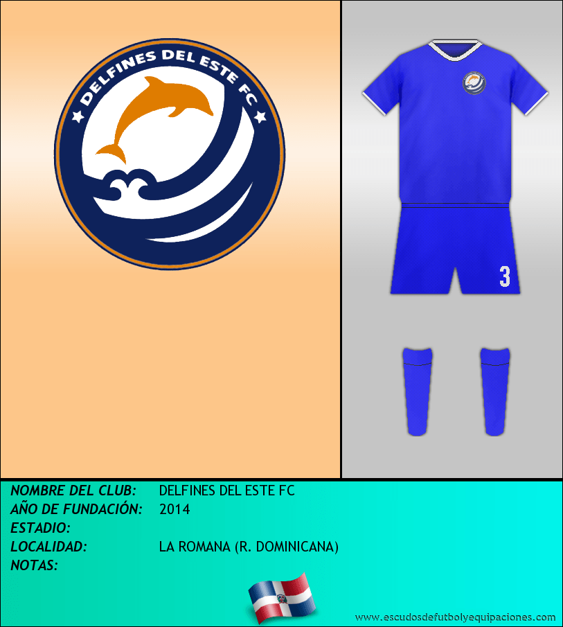 Escudo de DELFINES DEL ESTE FC