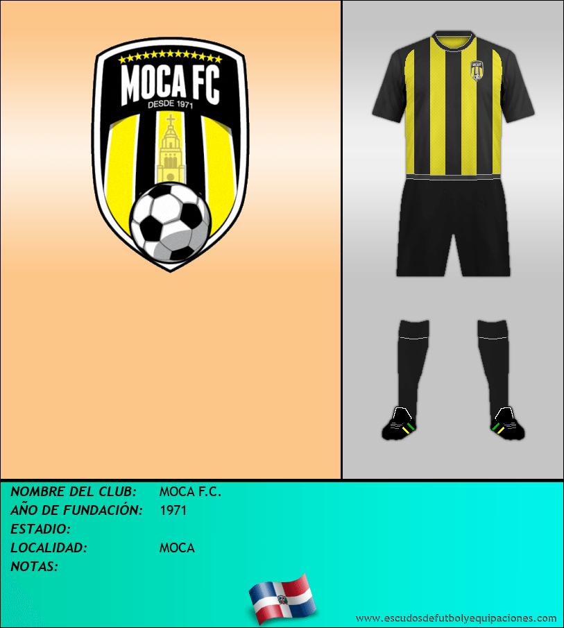 Escudo de MOCA F.C.