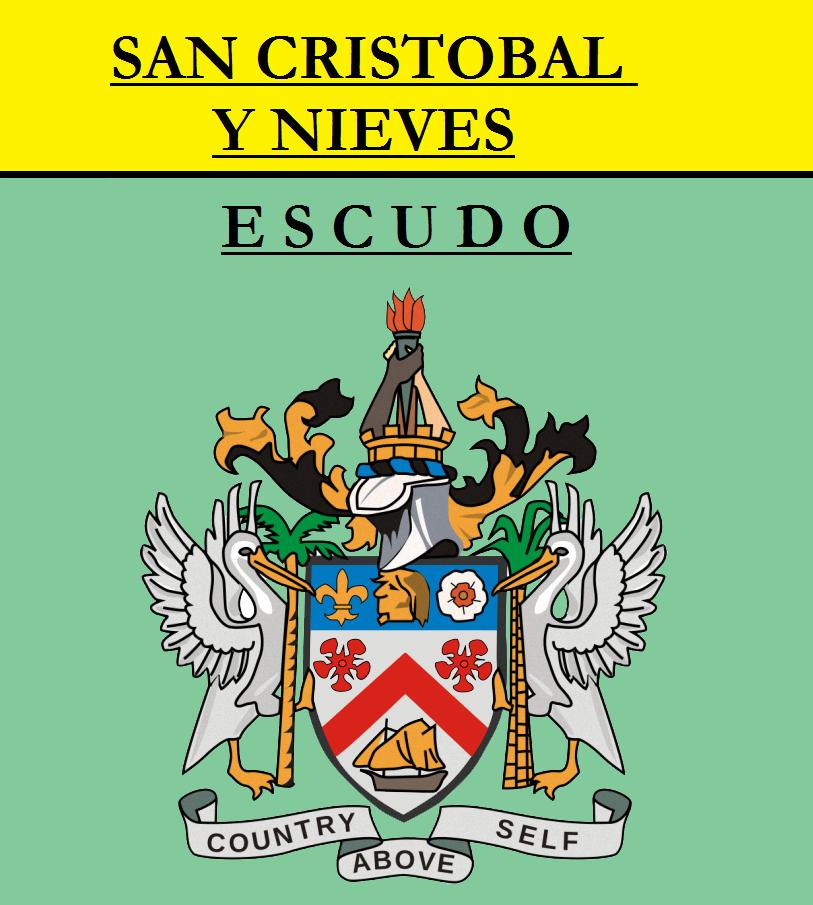 Escudo de ESCUDO DE SAN CRISTOBAL Y NIEVES