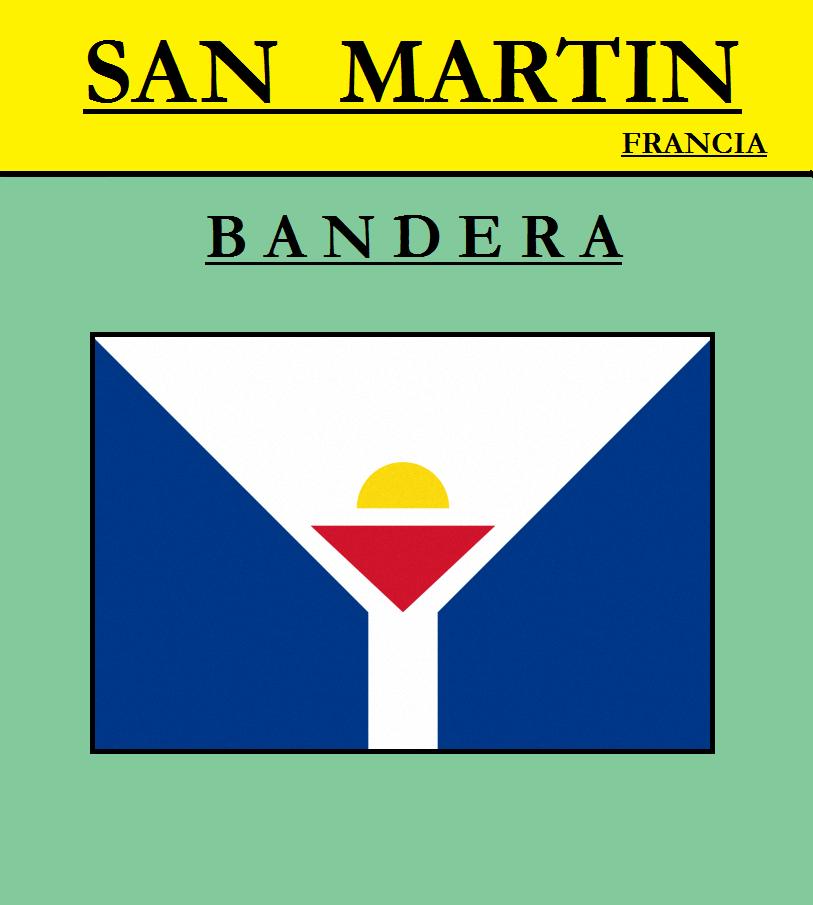 Escudo de BANDERA DE SAN MARTÍN (FRANCIA)