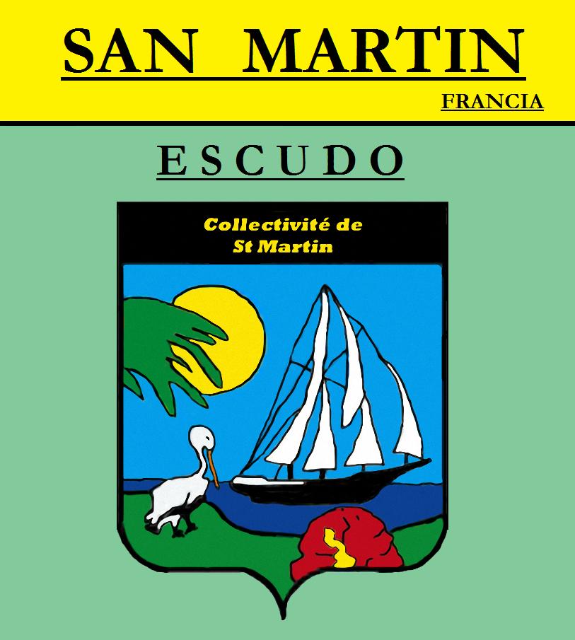 Escudo de ESCUDO DE SAN MARTÍN (FRANCIA)