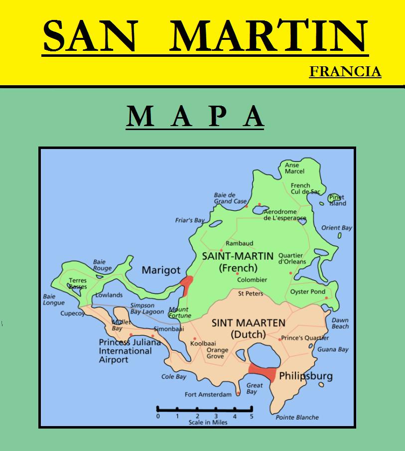 Escudo de MAPA DE SAN MARTÍN (FRANCIA)