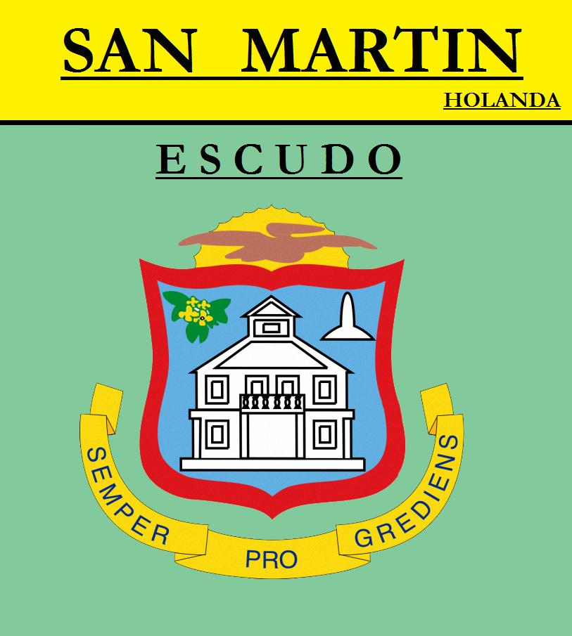 Escudo de ESCUDO DE SAN MARTÍN (HOLANDA)