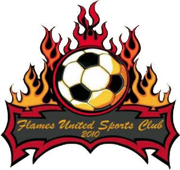 Escudo de FLAMES UNITED SC (SAN MARTÍN (HOLANDA))