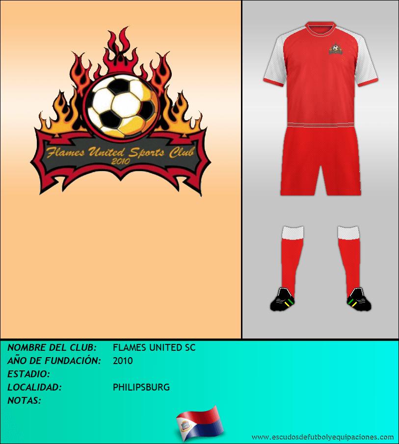 Escudo de FLAMES UNITED SC