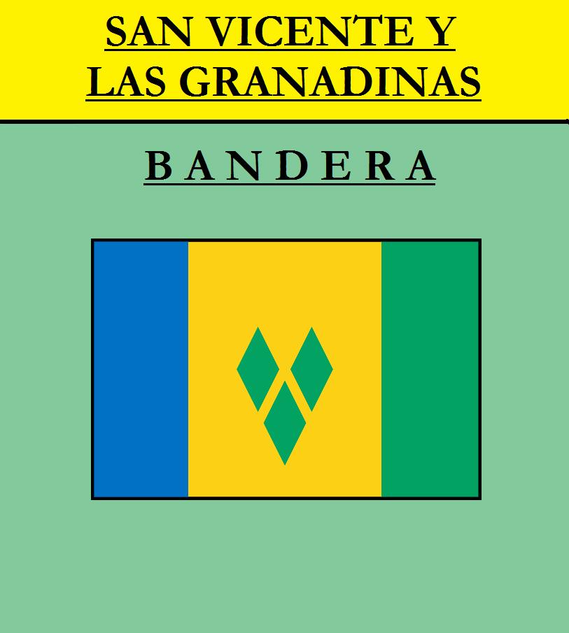 Escudo de BANDERA DE SAN VICENTE Y LAS GRANADINAS
