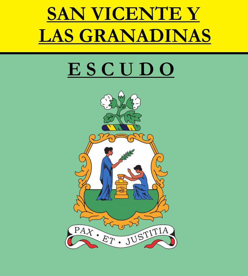 Escudo de ESCUDO DE SAN VICENTE Y LAS GRANADINAS