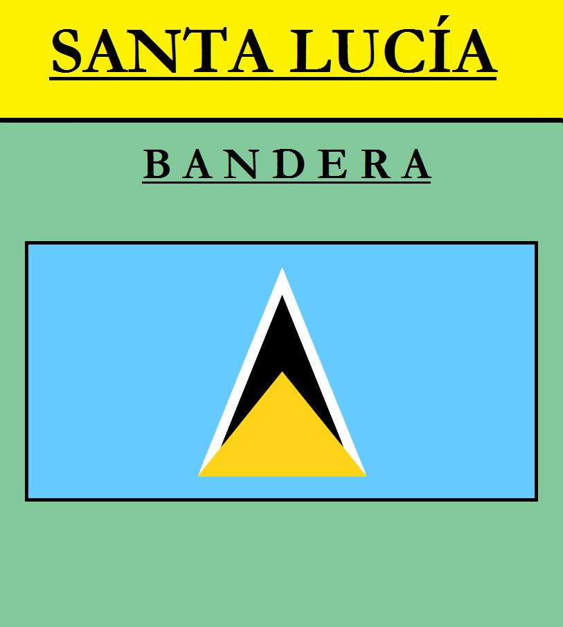 Escudo de BANDERA DE SANTA LUCÍA