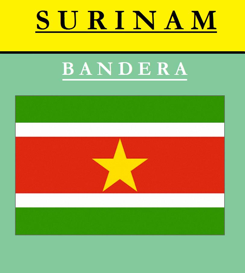 Escudo de BANDERA DE SURINAM