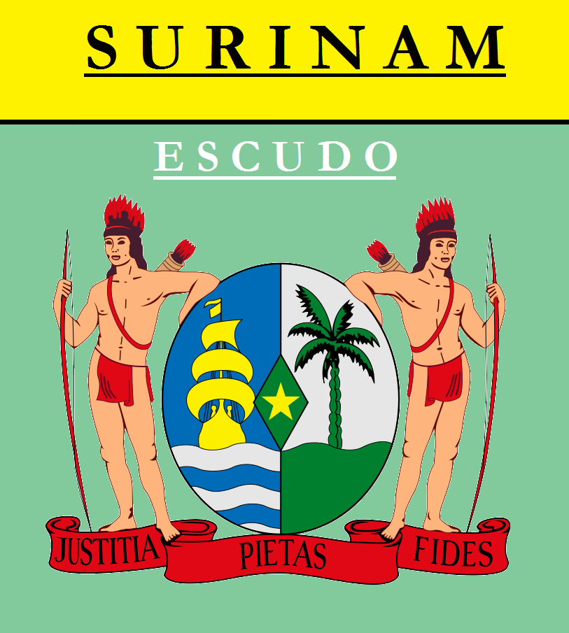 Escudo de ESCUDO DE SURINAM