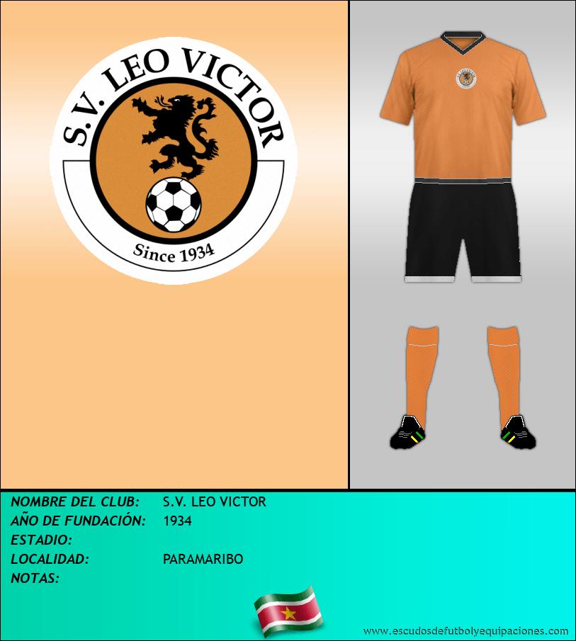 Escudo de S.V. LEO VICTOR