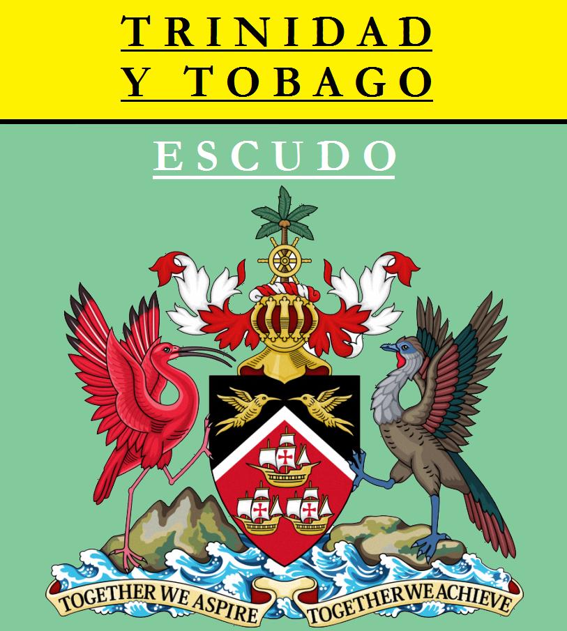 Escudo de ESCUDO DE TRINIDAD Y TOBAGO