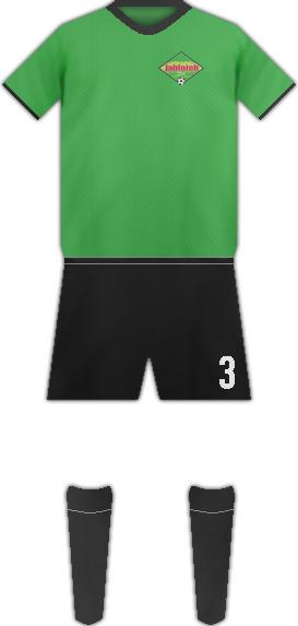 Equipación SAN JUAN JABLOTEH F.C.
