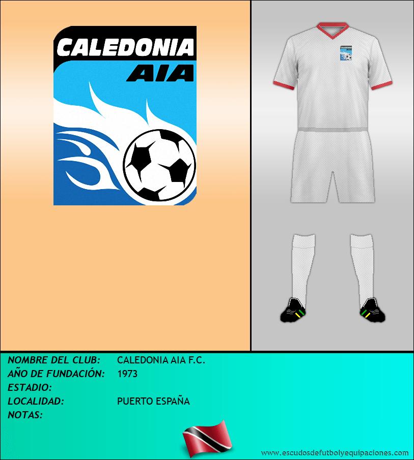 Escudo de CALEDONIA AIA F.C.