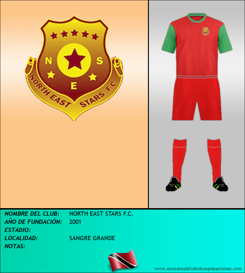 Escudo de NORTH EAST STARS F.C.