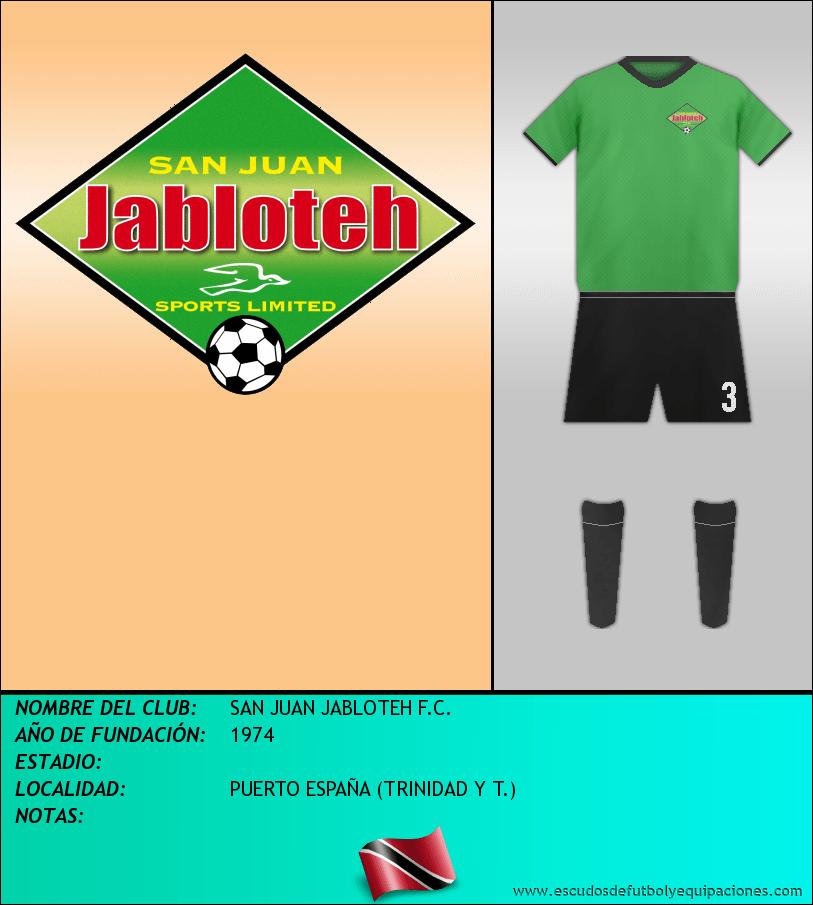 Escudo de SAN JUAN JABLOTEH F.C.