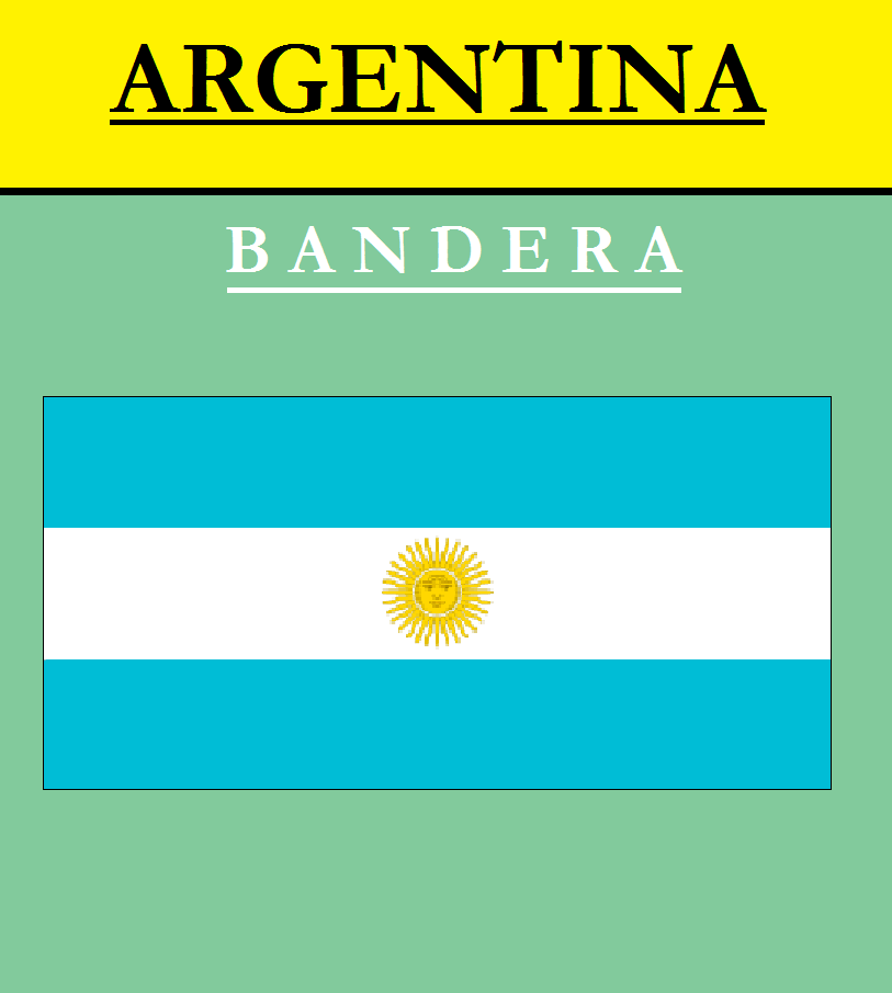 Escudo de BANDERA DE ARGENTINA