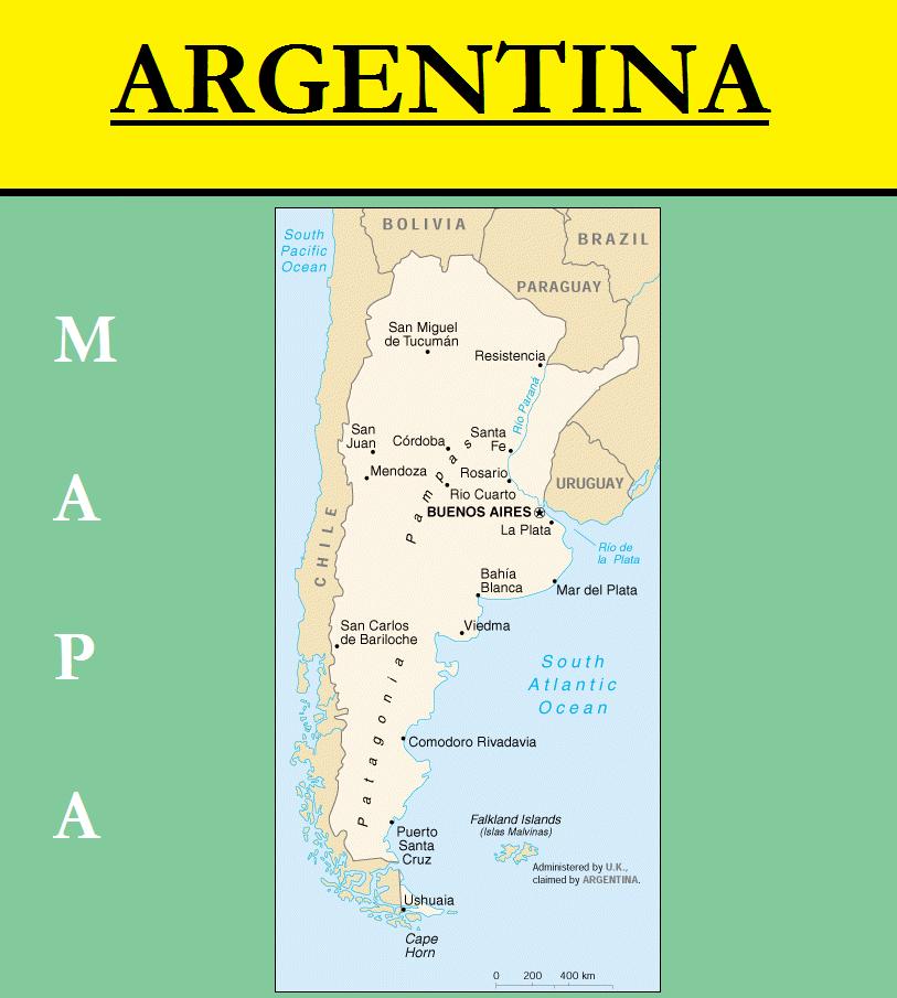 Escudo de MAPA DE ARGENTINA