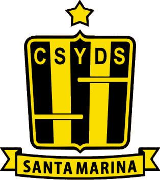 Escudo de C. Y BIBLIOTECA RAMÓN SANTAMARINA (ARGENTINA)