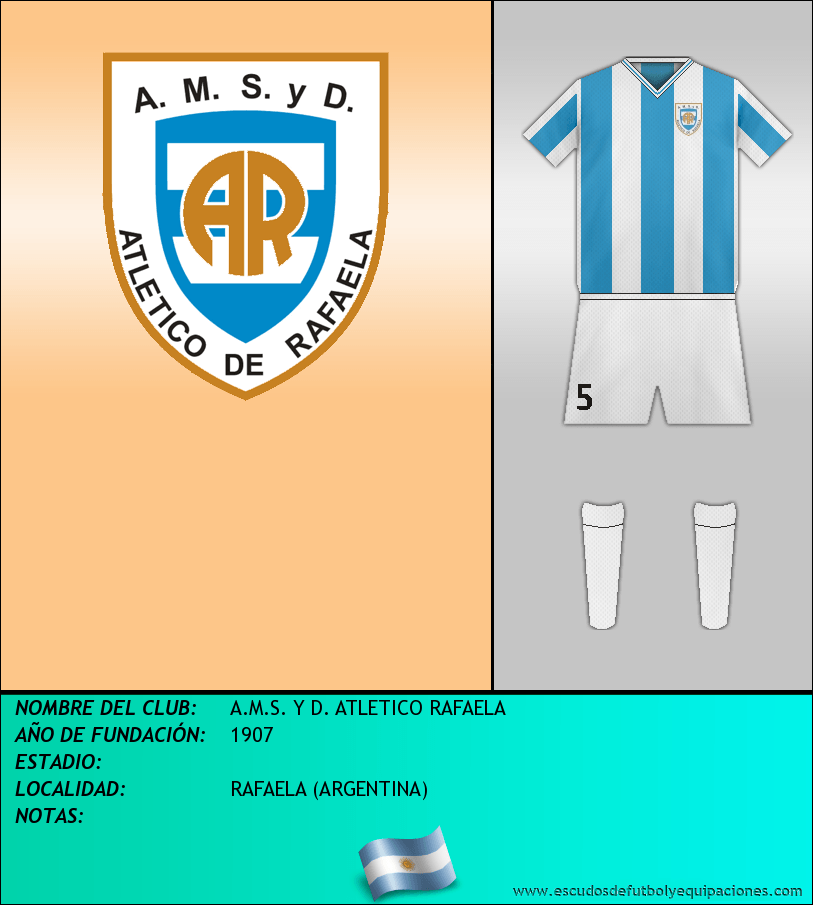 Escudo de A.M.S. Y D. ATLETICO RAFAELA