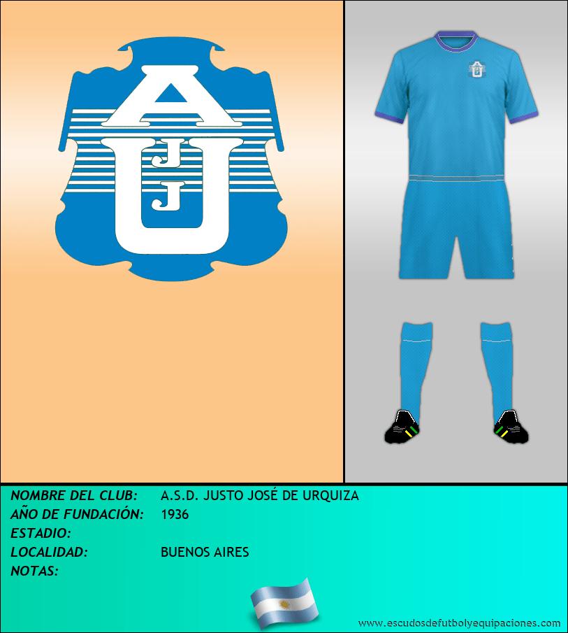 Escudo de A.S.D. JUSTO JOSÉ DE URQUIZA