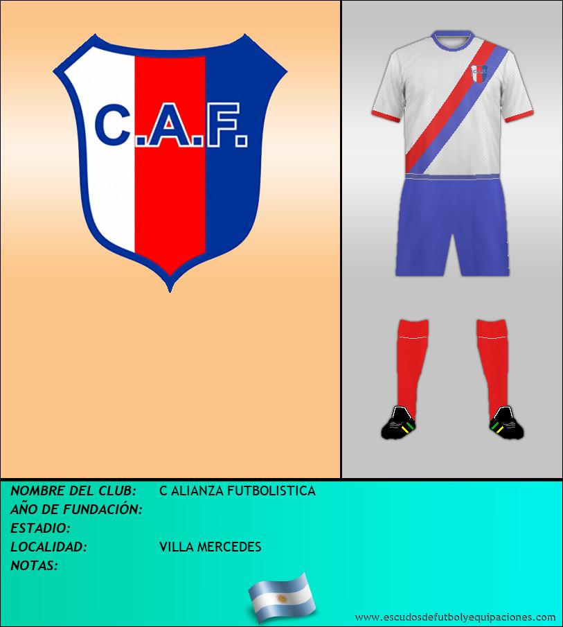 Escudo de C ALIANZA FUTBOLISTICA